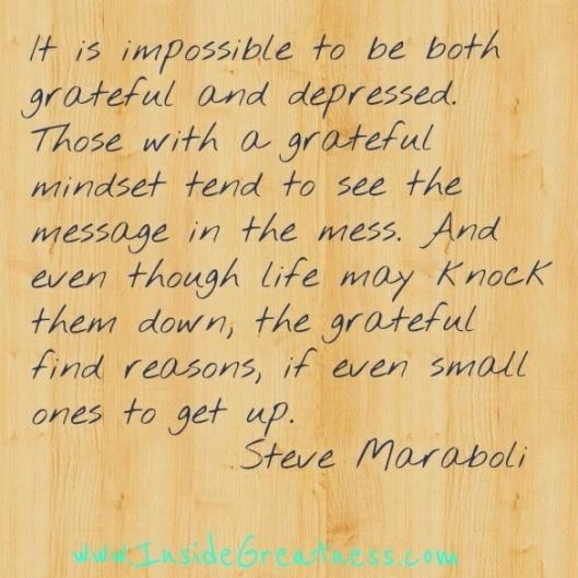 GRATEFUL MINDSET